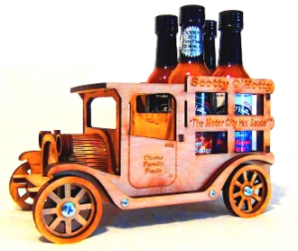 Motor City Hot Sauce Truck (4 pack)