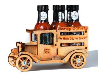 Motor City Hot Sauce Truck (6 pack)